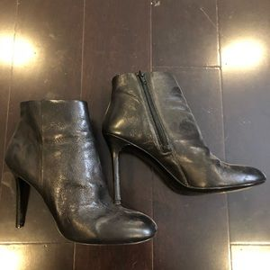 Banana Republic high heeled ankle boot